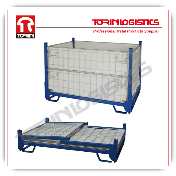 Metal cargo container for warehouse (L1600*W1155 mm/OEM)