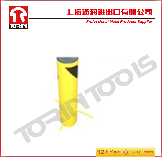 Safety Bollard Security Post barrier Steel Bollard Yellow Bollard