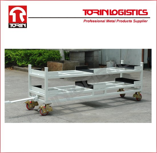 Storage selective drive in tire storage pallet rack