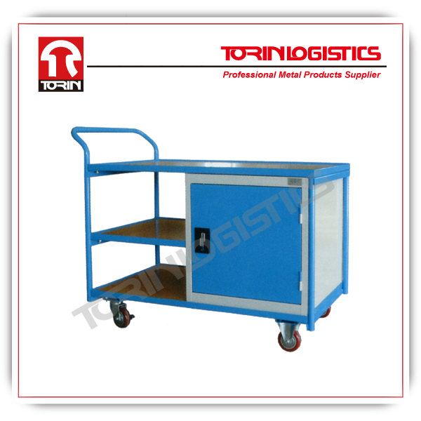 heavy duty storage trolleys with wheels for delivery