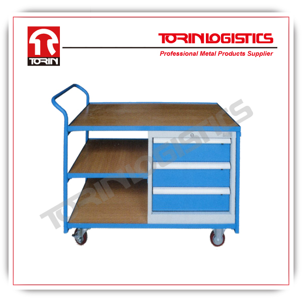 durable heavy duty cage trolley of easy moving